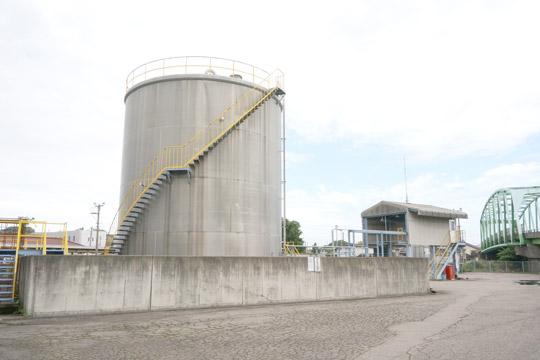 過酸化水素中継基地