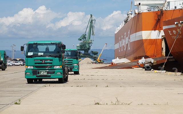 トラック輸送部門